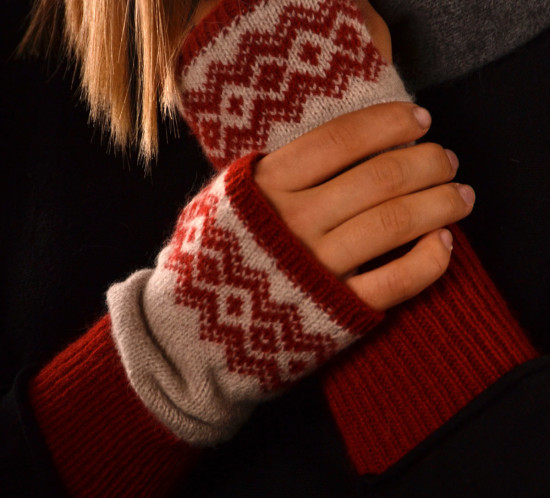 Fairsisle Wrist Warmers