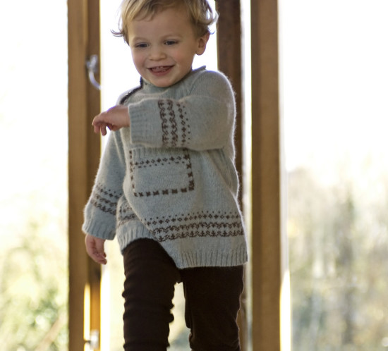 Fairisle A-Line Sweater